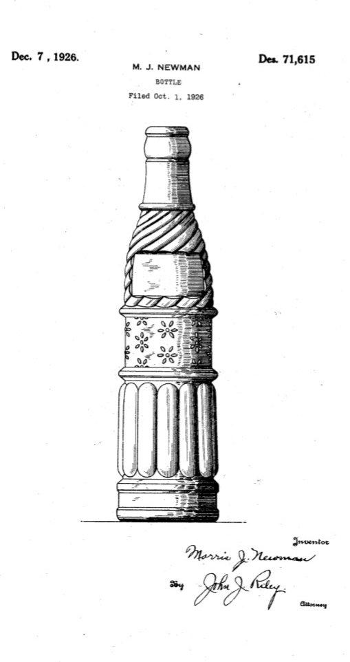 Cadillac Ginger Ale Patent Morris J Newman.jpg
