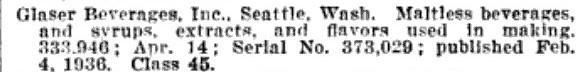 Glaser Beverages Inc Seattle Washington 1936.jpg