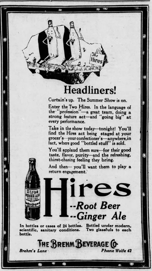 Hires Root Beer_The_Evening_Baltimore Maryland_Sun_Fri__Jul_22__1921.jpg