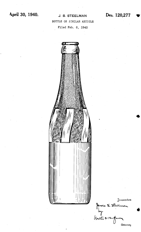 Pepsi Bottle Patent 1940.jpg
