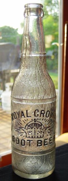 Royal Crown Root Beer - Embossed - Sold ebay  9-11-2012 $103.jpg