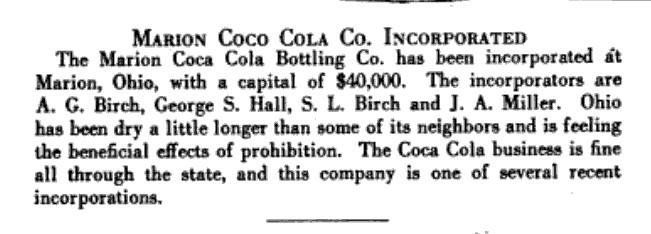 S L Birch Coca Cola 1920 American Bottler Magazine.jpg