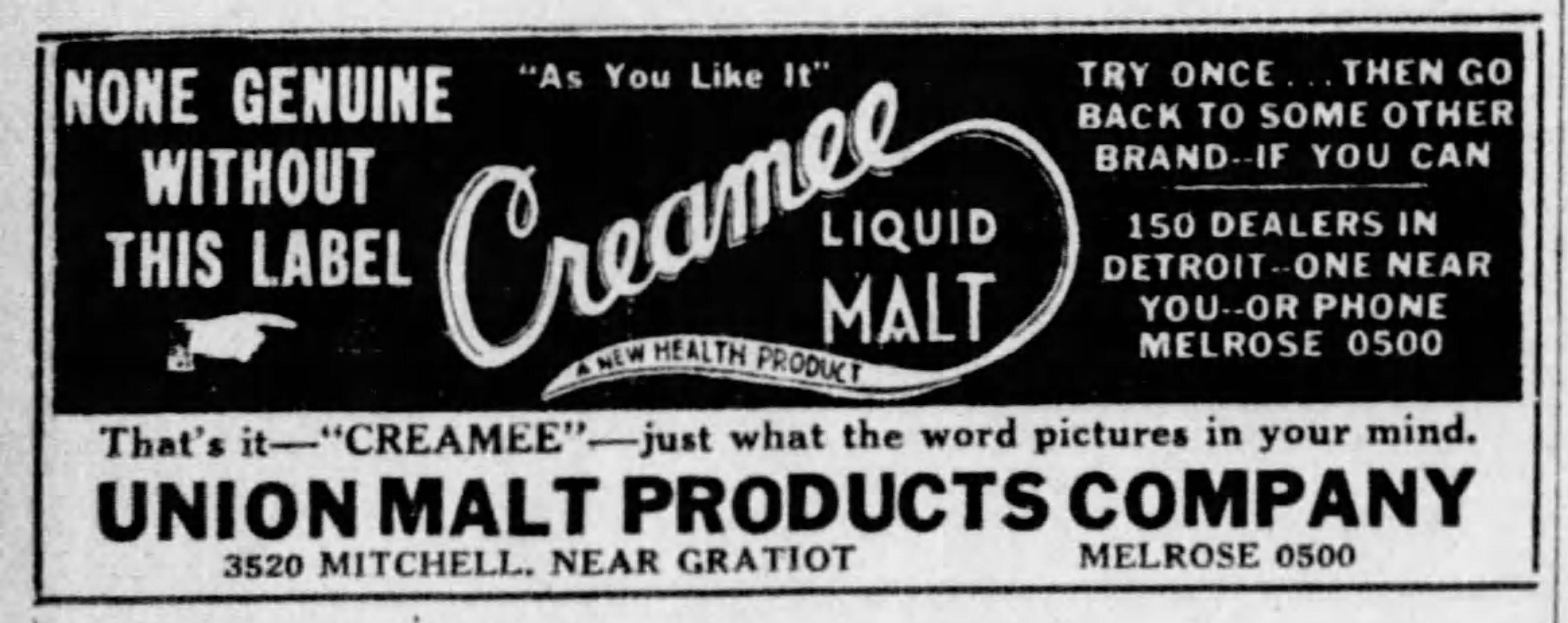 Union Malt Products Company_Detroit_Free_Press_Michigan_Mon__Apr_11__1932_.jpg