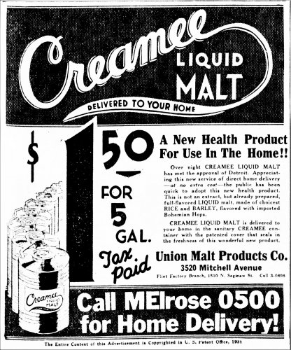 Union Malt Products Co Creamee_Detroit_Free_Press_Fri__Jul_31__1931.jpg