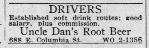 Uncle Dan's Root Beer_Detroit_Free_Press_Michigan_Mon__May_14__1951.jpg
