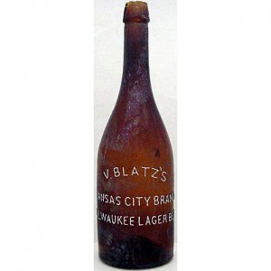 V. BLATZ'S MILWAUKEE LAGER BEER