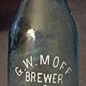 G. W. MOFF BREWER & BOTTLER